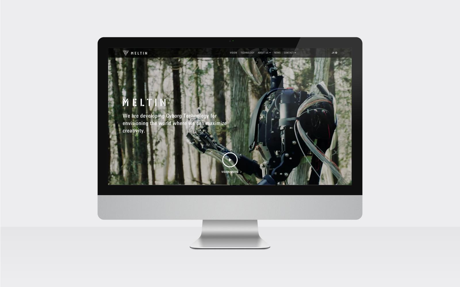 「MELTIN MMI」コーポレートサイト